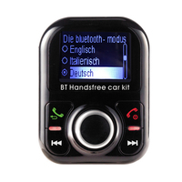 Die Bluetooth Car Kit Handsfree FM Modulator Transmitter MP3 Player Two USB Charger Port Germany Language