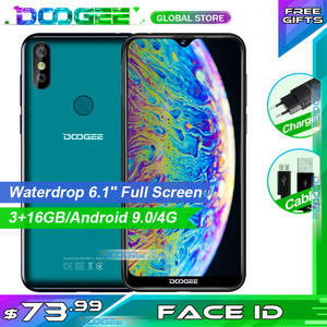 DOOGEE 32GB Y8 Android 16gb 3GB GSM/WCDMA/LTE New Waterdrop-Screen Smartphone Mobile