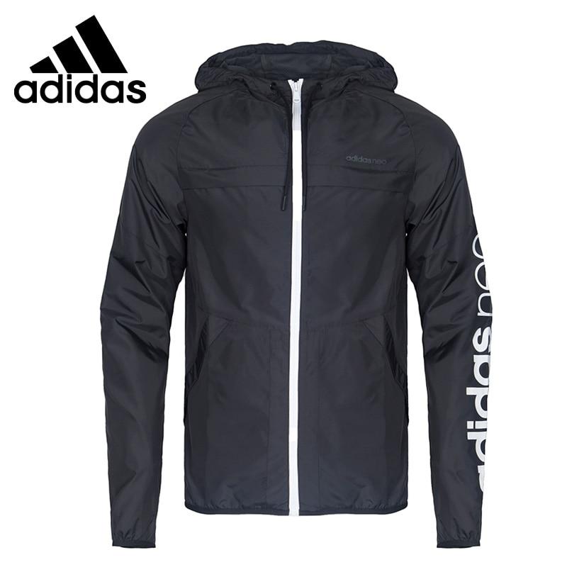Original New Arrival 2017 Adidas NEO Label M CS CB WB Men's  jacket Hooded Sportswear брюки adidas брюки муж m cs wv jgr
