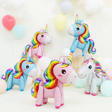 birthday party decorations kids happy christmas decoration for home unicorn balloons balloon foil
