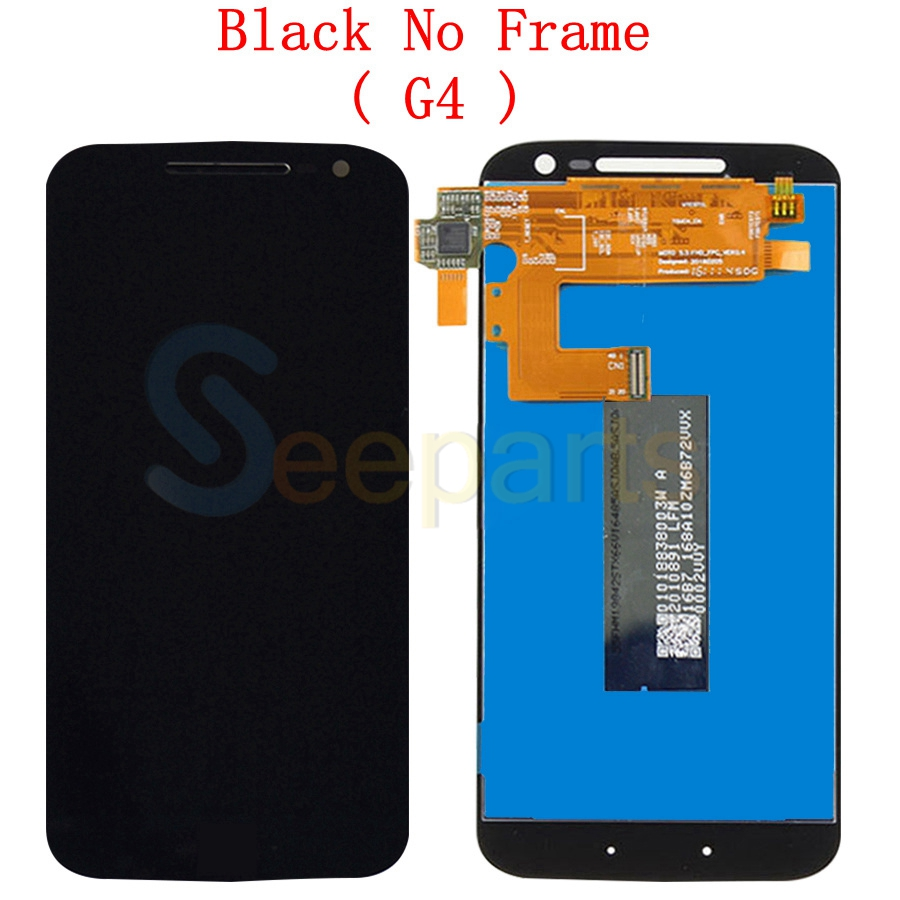 Image 3 - For Motorola Moto G4 LCD Display Touch Screen Digitizer Assembly XT1622 xt1625 For MOTO G4 Plus LCD Display Replacement PartsMobile Phone LCD Screens   -