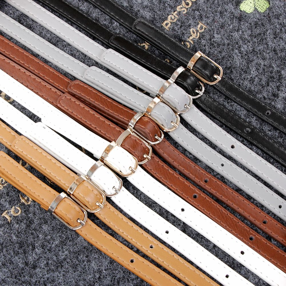 Women DIY Replacement Leather Bag Shoulder Straps Handle Cross Body Adjustable Length DIY Bag Accessories Obag