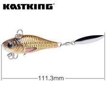 Spinner bait  49 g 111 mm Sinking  Heavy Spoon Baits Single Hook 3D Eyes