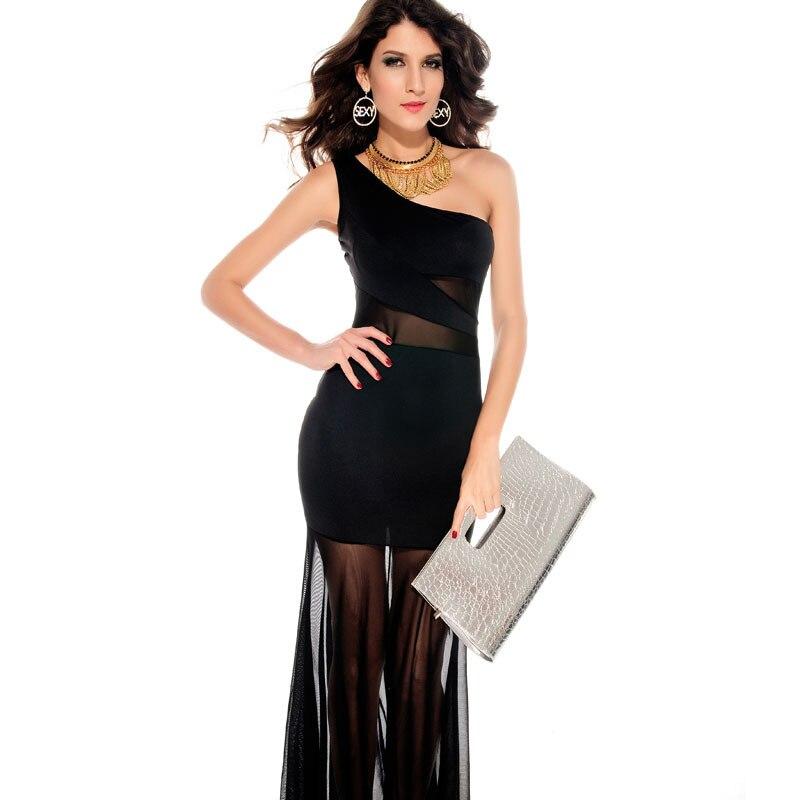 49ed4c13b Vestidos de fiesta con cola de pato - Elegante vestido de moda de ...