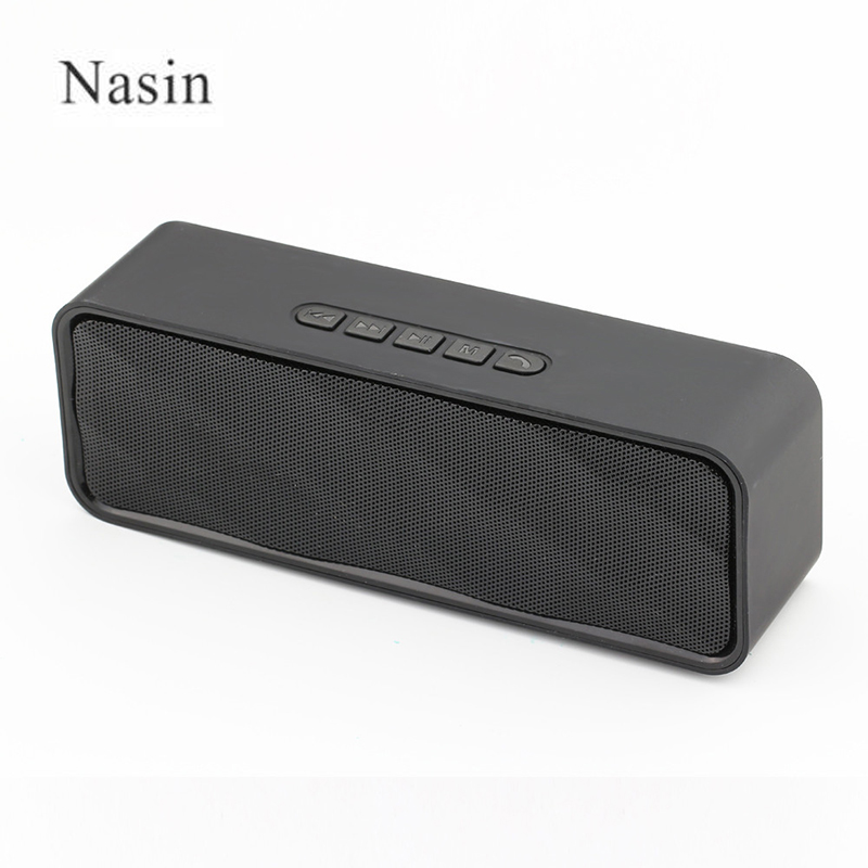 Nasin sc211 Wireless Bluetooth Speakers Outdoors Hands Free Speaker TF Card USB Stereo Music Sound Box For iphone pc