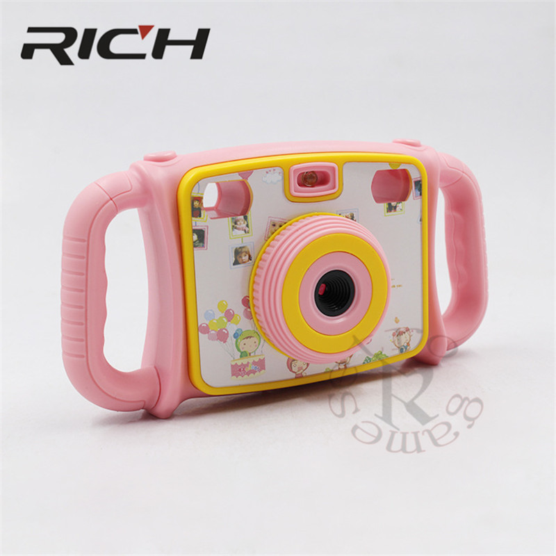 """RICH Mini ABS Children Kid Camera Digital Video Camcorder with 2.0"""" LCD Screen Fine Gift for your Boy Girl with lithium batterry 1"""