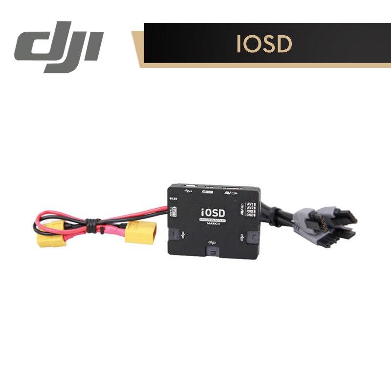 DJI IOSD MARK II moduł wyjściowy dla A2/WKM/Naza M/Naza M V2 do transmisji danych i wideo sygnał superpozycji oryginalne akcesoria w Skrzynie biegów od Elektronika użytkowa na  Grupa 1