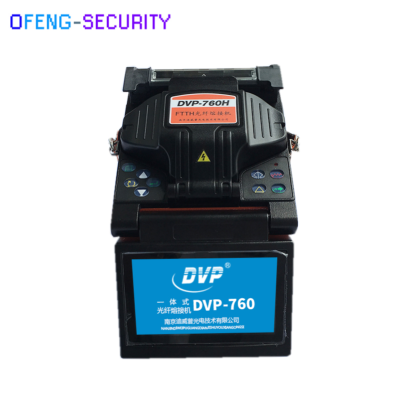 DVP-760 Multi-language Fiber Optic Splicing Machine Optical Fusion Splicer