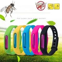 Dropship repelente de mosquito silicone pulseira verão repelente anti mosquito banda crianças inseto assassino|Repelentes| |  -