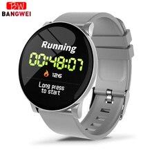 Relogio masculino 2019New Smart Sports Bracelet Men Waterproof Wristband Heart rate monitor Pedometer Fitness Tracker Smartwatch