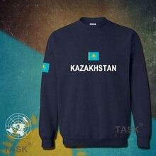 Kazakhstan hoodies men sweatshirt sweat suit streetwear socceres jerseyes footballer tracksuit nation Kazakh flag Kazakhstani KZ
