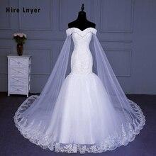 เช่า Lnyer ออกแบบใหม่ Slim Elegant จีนชุดเจ้าสาว Mariage Appliques ประดับด้วยลูกปัด Sequins Mermaid งานแต่งงานชุด  เข้าสู่ระบบ