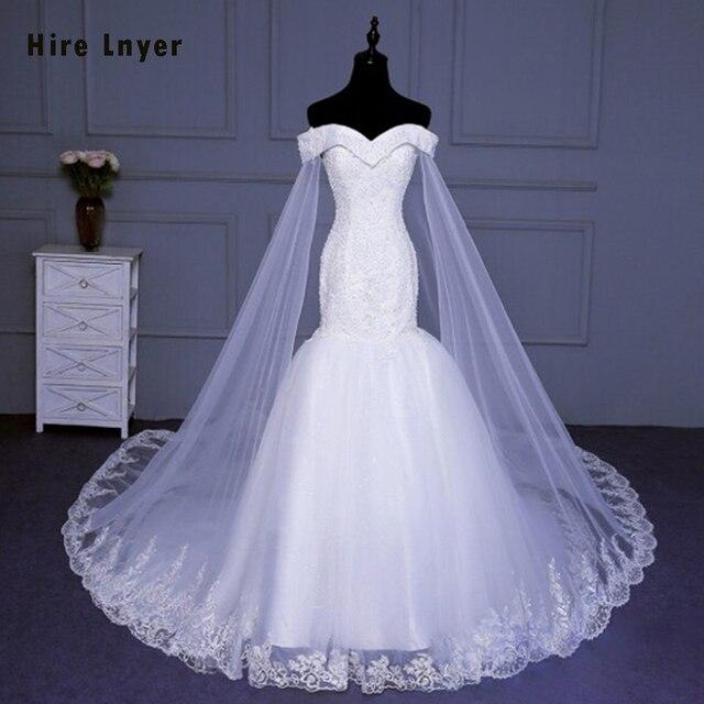 לשכור Lnyer חדש עיצוב Slim אלגנטי סין שמלות כלה Mariage אפליקציות ואגלי פאייטים בת ים חתונת שמלת Aliexpress התחברות