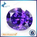 Oval Shape 50Pcs A07 Violet Color 5A CZ Stone 3x5-10x12mm Synthetic Gems Cubic Zirconia For Jewelry