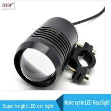 Led 30 W Moto de La Motocicleta led de la Linterna 1200LM LED Conducción de la Niebla Spot luz de Cruce Superior Flash U2 de alta Potencia Luz Principal lámpara