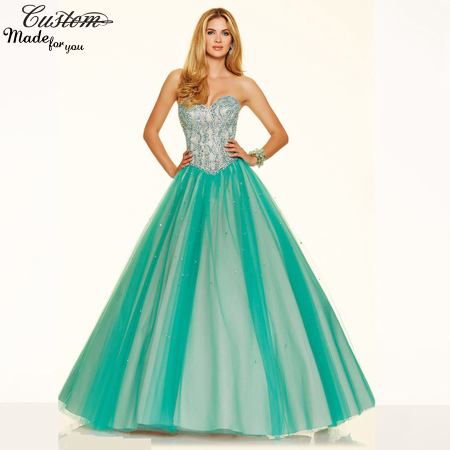 Dress for 15 Years Debutante Romantic Masquerade Ball Gowns Peach ...