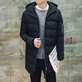 2016 NEW Long Winter Jacket Men Cotton Padded Jackets Mens Winter Coat Men Plus Size XXXL