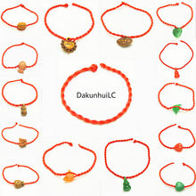 Sale 2019 Fashion wholesale multiple styles Red Thread String Bracelet Lucky Rope Bracelet for Women Men Lover Couple Gift(China)