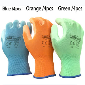 Image 5 - NMSafety 12 Pairs work gloves for PU palm coating safety glove