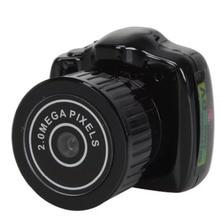 Y2000 Mini Portable Camera CMOS 2.0 Mega Pixel Pocket Video Audio Digital Mini Camcorder 640*480 480P DV DVR 720P