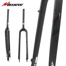 Ullicyc Full Carbon Fiber Mountain Bike Fork 26/27.5/ 29-inch 520g 3K Matt Edition Hard Bicycle Fork QC625