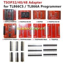 8 шт./лот адаптер TSOP32 TSOP40 TSOP48 SOP44 SOP56 комплект адаптеров для MiniPro TL866 TL866A TL866CS универсальный программатор