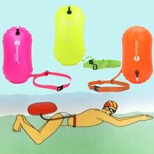 Buoy Trainning Float Swimming Inflatable Flotation-Bag Safety Mark 3-Color