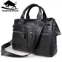 Erkek seyahat çantası 100% Hakiki Deri erkek çanta Vintage erkekler Messenger Çanta erkek evrak çantası Dizüstü İş çantası