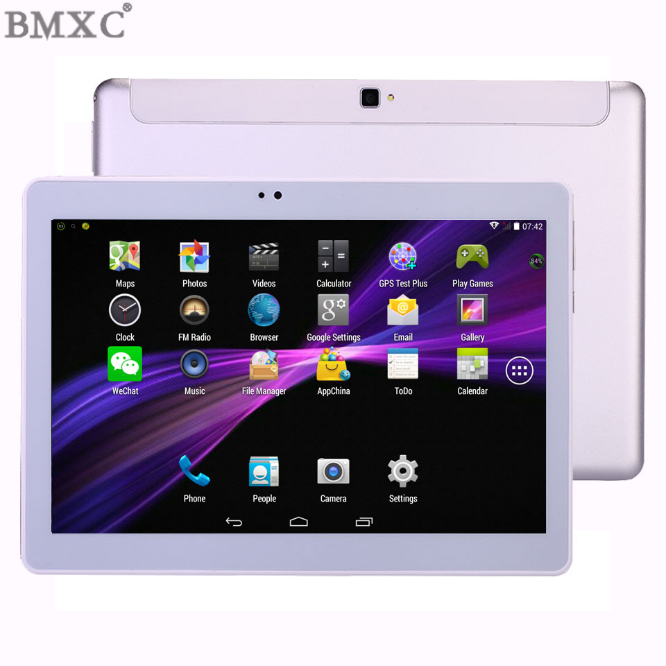 2017 3G Metal Case BMXC 10 1 inch Tablets Octa Core 1280 800 IPS Android 5