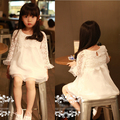New Hot 2014 Spring Summer Girls Lovely Lace Dresses Children's Clothing Baby Doll Princess Dress