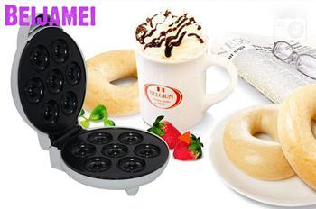 Zwei-seite Heizung Automatische Donut Waffel Maker Kleine Ei Kuchen, Der Elektrische Backform Haushalt Breafast Maschine
