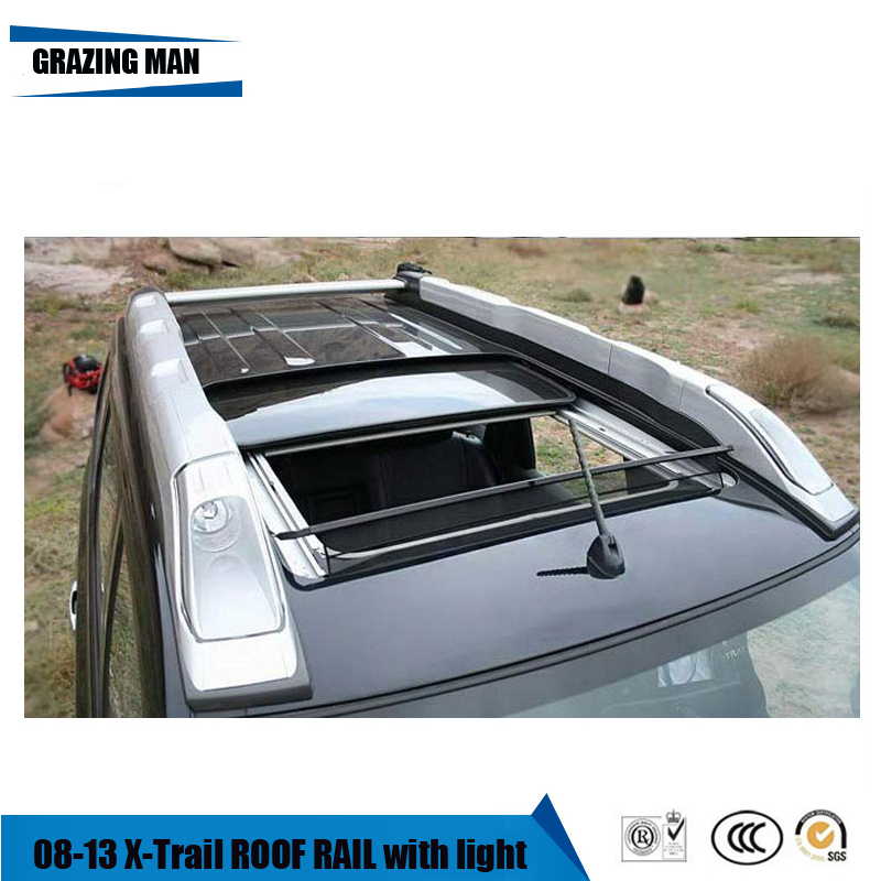 High Quality Aluminium Alloy For Baggage Luggage Rail Roof Rack For 08~13 X-Trail