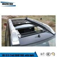 Hohe qualität aluminium legierung für gepäck gepäck schiene dach rack für 08 ~ 13 X Trail-in Dachgepäckträger & Boxen aus Kraftfahrzeuge und Motorräder bei