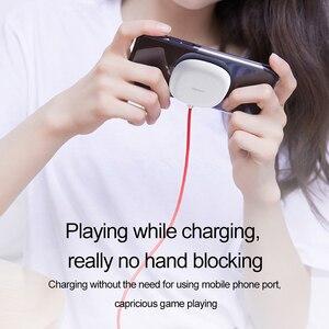Image 2 - Беспроводное зарядное устройство Baseus на присоске для iPhone 11 Pro Max Qi, беспроводное зарядное устройство для Samsung Note 9 S9 + Беспроводное зарядное устройство USB