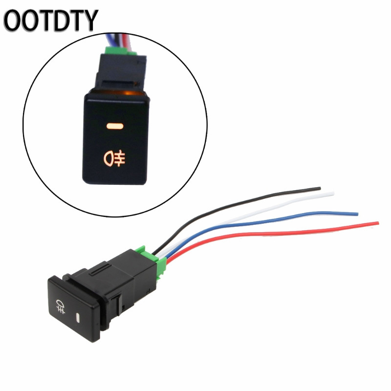 Dual Blue 5 Pin J60 ON-OFF Rocker Toggle Switch DC12-24V for
