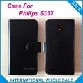 6 Cores Quentes! 2016 Para O Caso Philips S337, Couro de Alta Qualidade Caso Exclusivo Para Philips S337 Protetora Tampa Do Telefone de Rastreamento