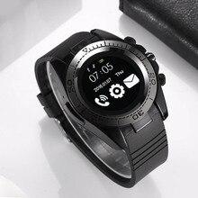 SW007 Homens Esporte Smartwatch Bluetooth Relógio Inteligente IOS Android Relógio Telefone Câmera wearable dispositivos SIM Apoio TF Cartão Da Câmera