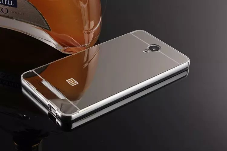 the latest 1a21e ddadd US $6.69 |For Xiaomi Redmi Note 2 Case Aluminum Bumper Luxury Metal Frame  Mirror Acrylic Back Cover Case for Xiaomi Redmi Note 2 on Aliexpress.com |  ...