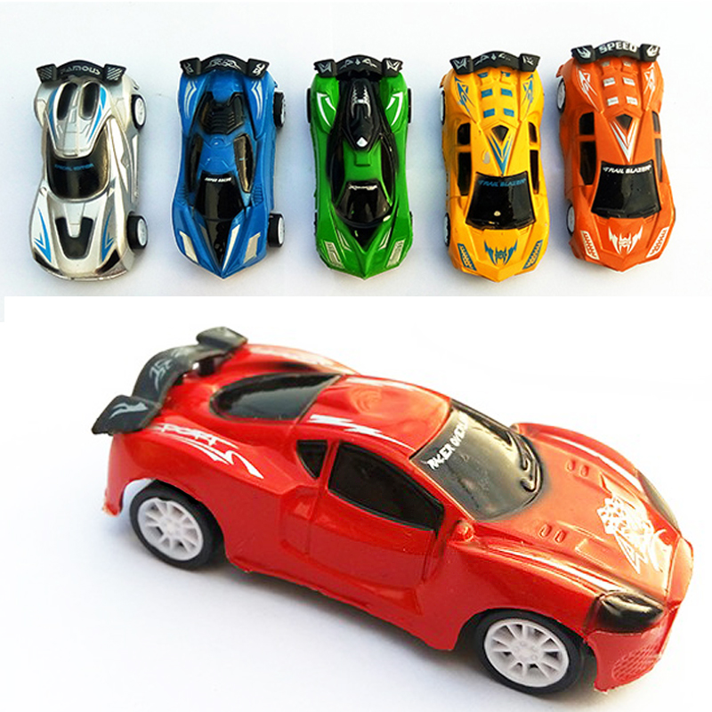 Cool racing car toy car children back to the car auto robot model children toys Cartoon car Q version of the Plastic