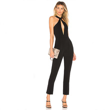 hot deal buy muxu black bodysuit rompers womens jumpsuit one piece sexy playsuits europe and the united states jumpsuits rompers body suit