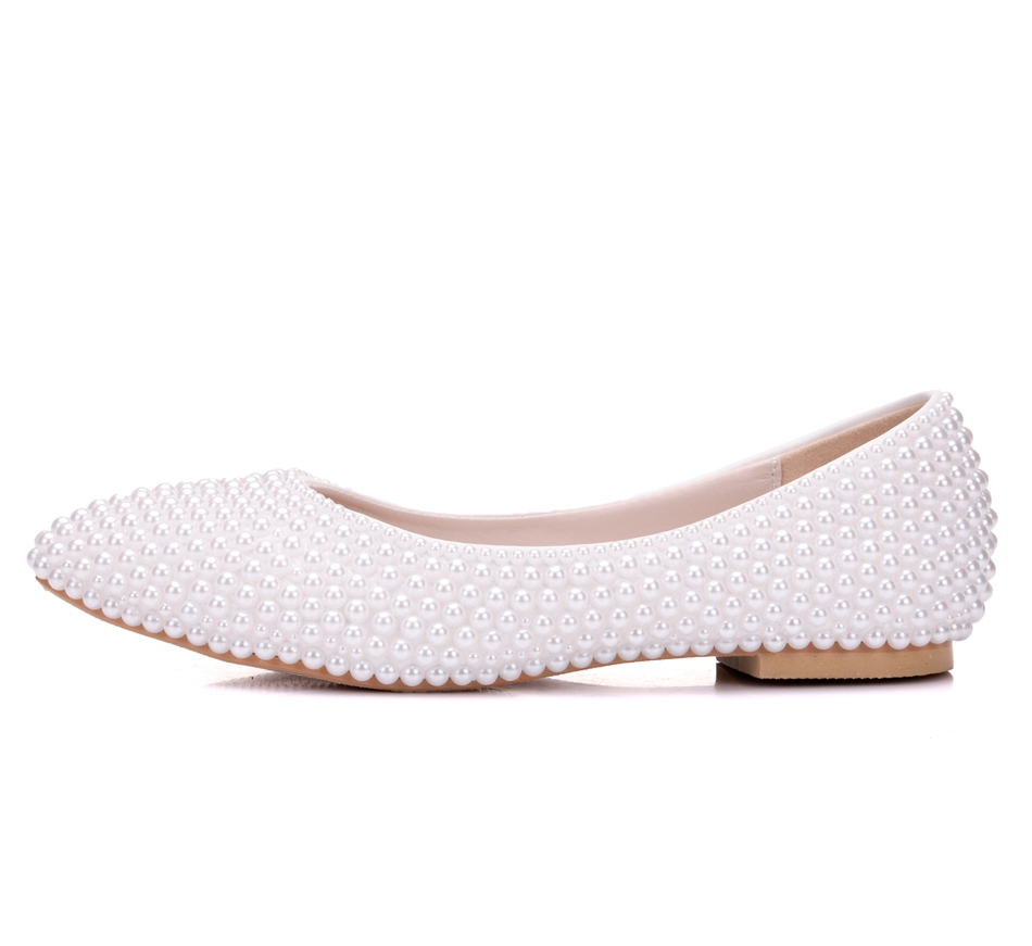 product com pearly comfortable comforter bridal shoes annakastleshoes beads ivory satin wedding