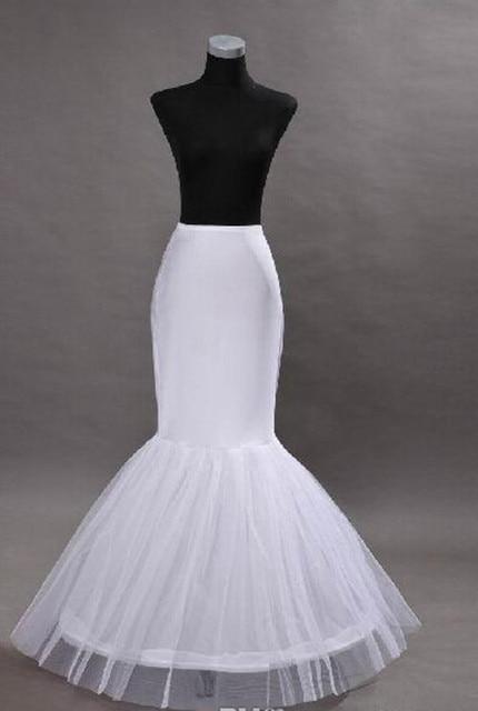 Nueva Llegada de La Sirena Enagua Nupcial Enaguas de la Crinolina para el vestido de Boda de La Sirena Vestidos de novia Accesorios