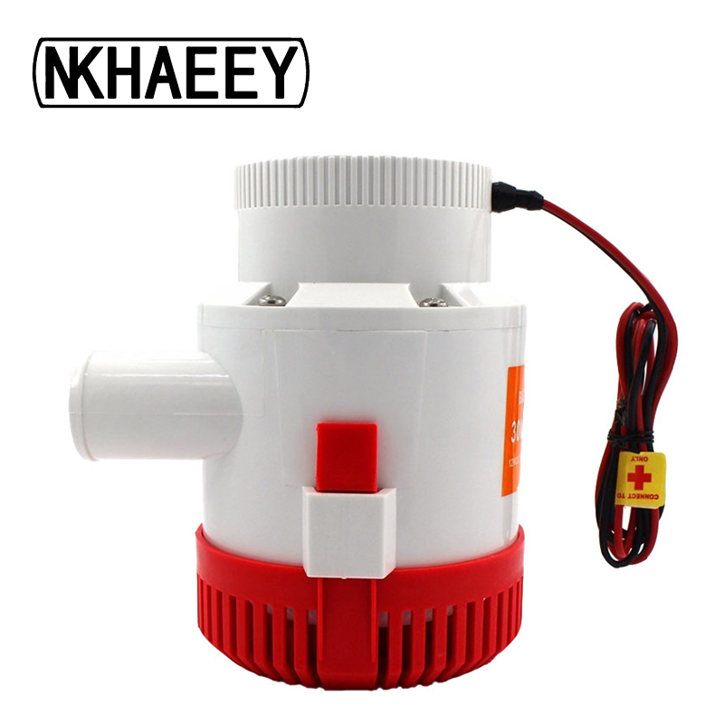 Large flow dc 12v/24v bilge pump 3500GPH Bilge Pump Electric Water Pump For Aquario Submersible Seaplane Motor Homes House mkbp g3500 12 24 12 24v 3500gph submersible water sump pump cheap water pumps 24v bilge pump from china factory