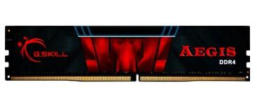 G.SKILL AEGIS series DDR4 2133 8G desktop memory (black and red) aegis