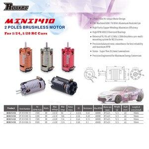 Image 4 - 로켓 미니 1410 2500KV 3500KV 5500KV 7500KV 9500KV 무 브러시 모터 Kyosho Mr03 Pro Atomic DRZ 1/24 1/28 1/32 RC Car