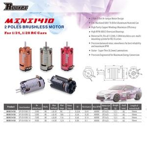 Image 4 - Rocket MINI 1410 2500KV 3500KV 5500KV 7500KV 9500KV Brushless Motor for Kyosho Mr03 Pro Atomic DRZ 1/24 1/28 1/32 RC Car