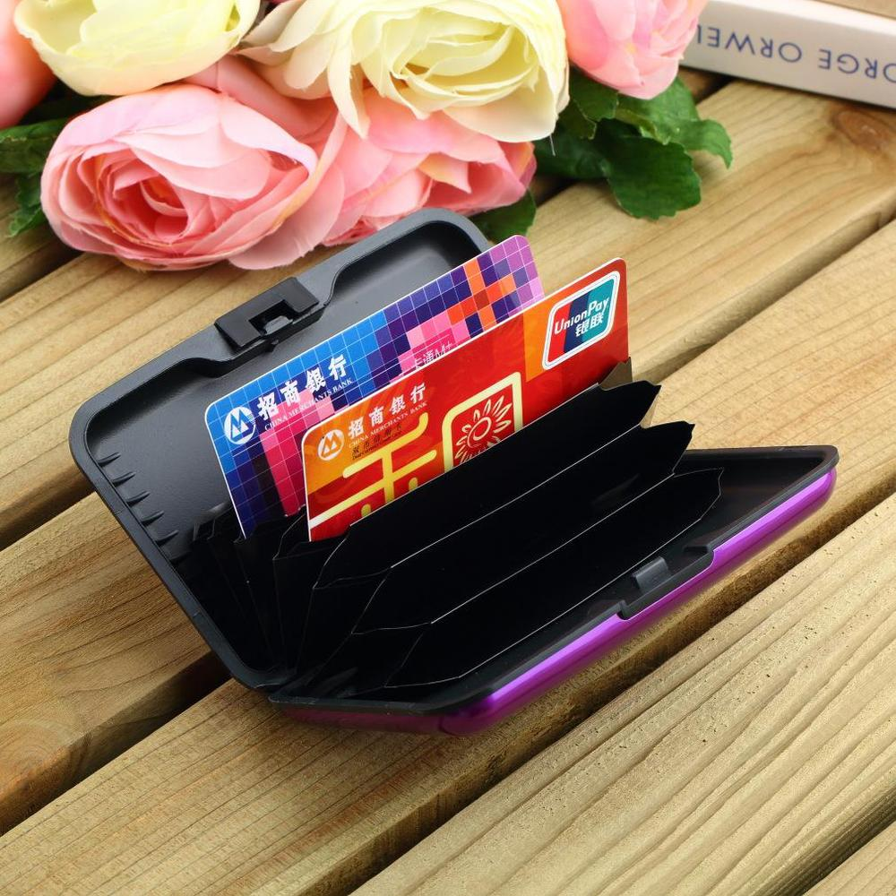 1Pc High Quality Business ID Credit Card Holder Wallet Pocket Case ...
