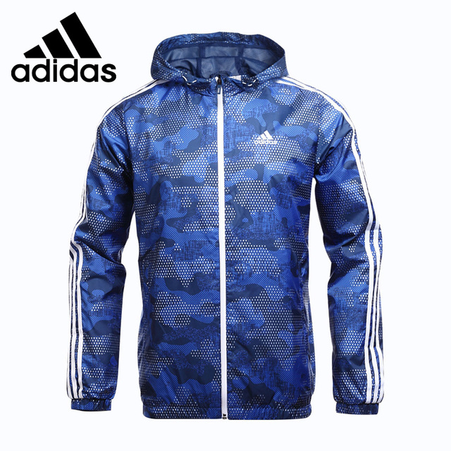 5d23254fa8 Original New Arrival Adidas Performance WB CAMO AOP Men s jacket Hooded  Sportswear