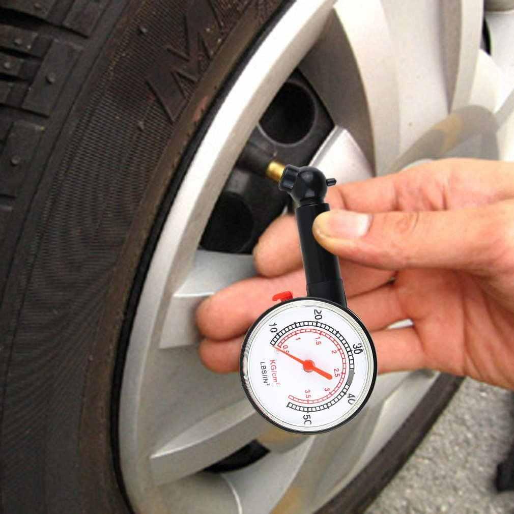 Car Vehicle Motorcycle Bicycle Dial Tire Gauge Meter Pressure Truck Motorcycle Bicycle Tyre Measurement Tool