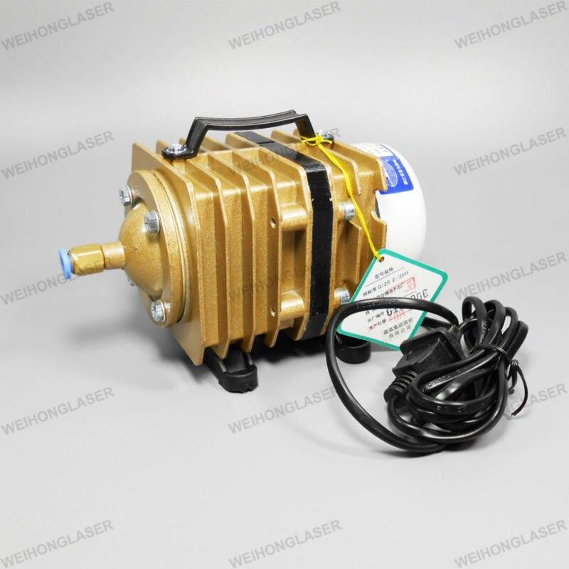 Electric-magnetic Air Pump ACO-007 120W 90L/min new resun aco 008 high quality 120w 0 110m3 min aquarium fish tank pond electromagnetic air compressor pump new